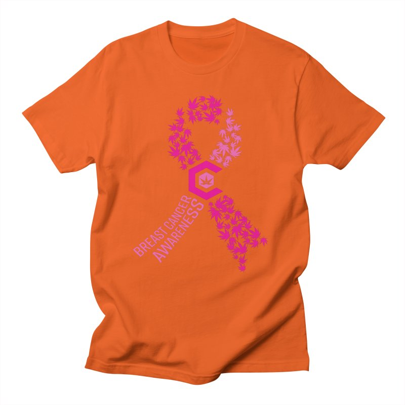 TMCC Breast Cancer Awareness Women's Regular Unisex T-Shirt by The Medical Cannabis Community