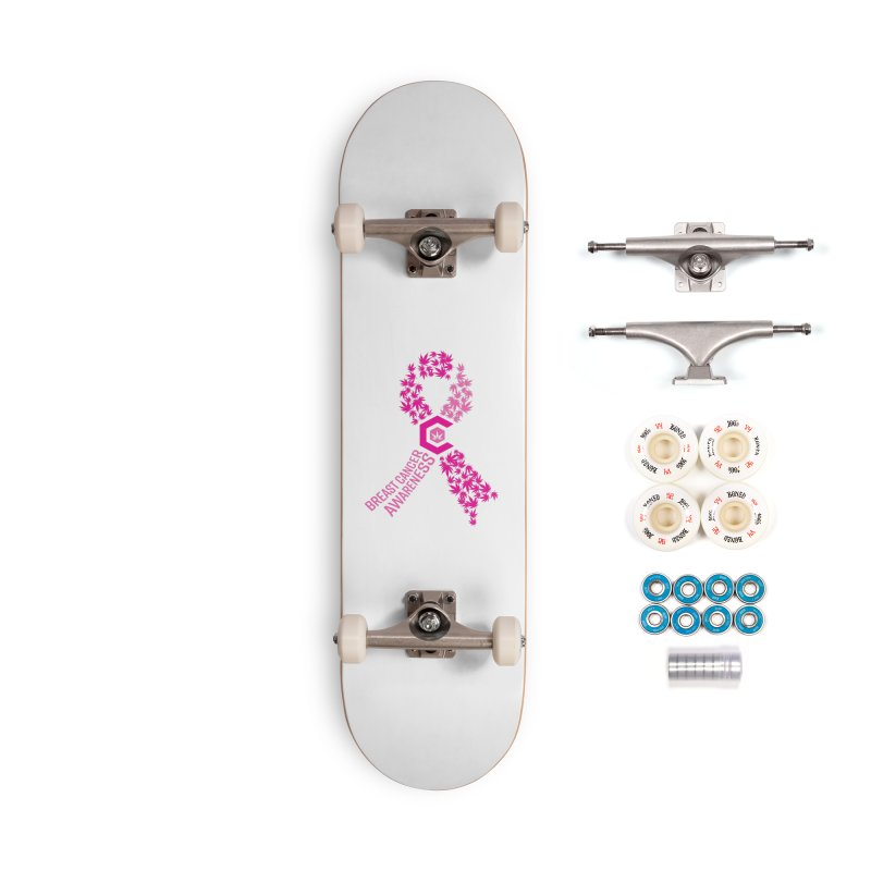 TMCC Breast Cancer Awareness Accessories Complete - Premium Skateboard by The Medical Cannabis Community