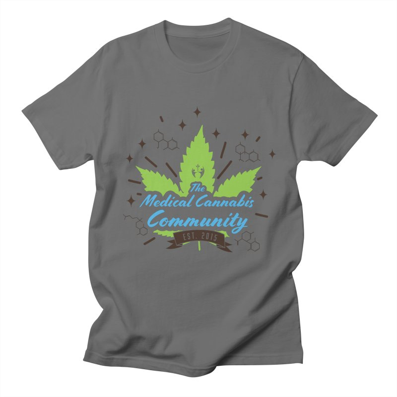 The Medical Cannabis Community EST.2015 Men's T-Shirt by The Medical Cannabis Community