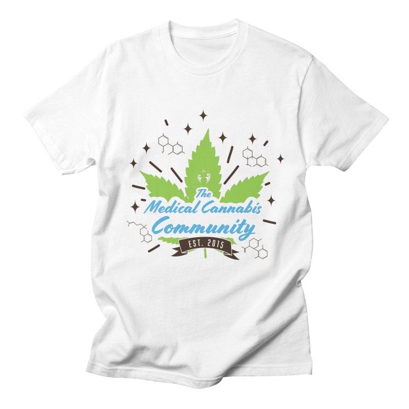 The Medical Cannabis Community EST.2015 Men's T-Shirt by The Medical Cannabis Community