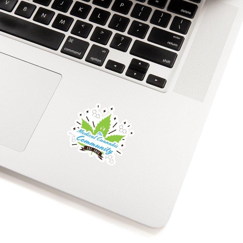 The Medical Cannabis Community EST.2015 Accessories Sticker by The Medical Cannabis Community