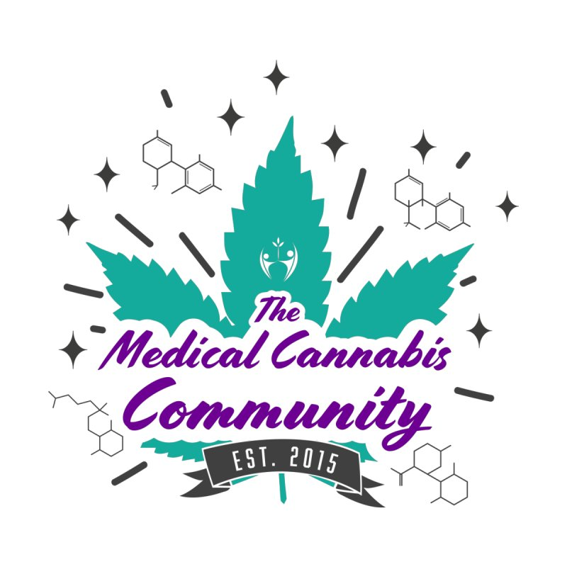 The Medical Cannabis Community EST.2015 Teal by The Medical Cannabis Community