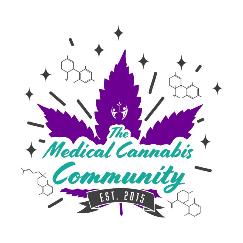 The Medical Cannabis Community EST.2015 Purple   by The Medical Cannabis Community