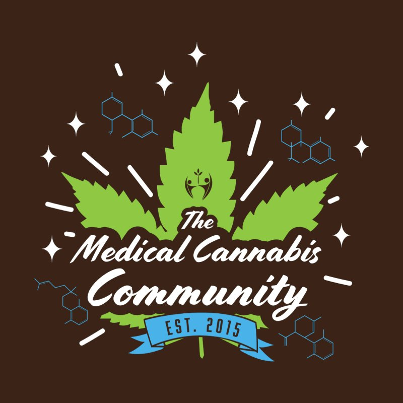 The Medical Cannabis Community EST.2015 Brown   by The Medical Cannabis Community
