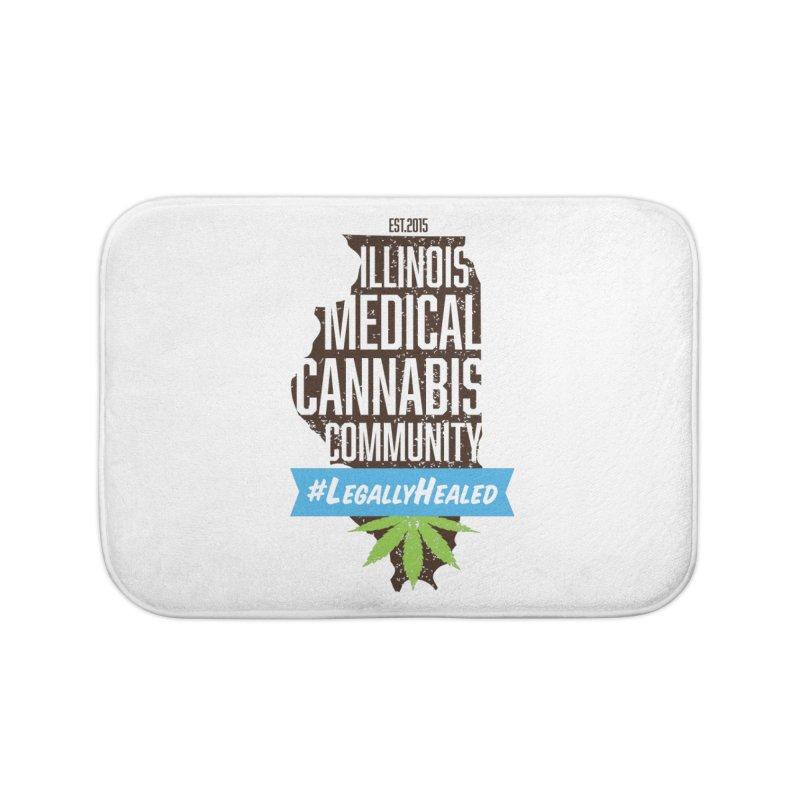 Illinois #LegallyHealed Home Bath Mat by The Medical Cannabis Community