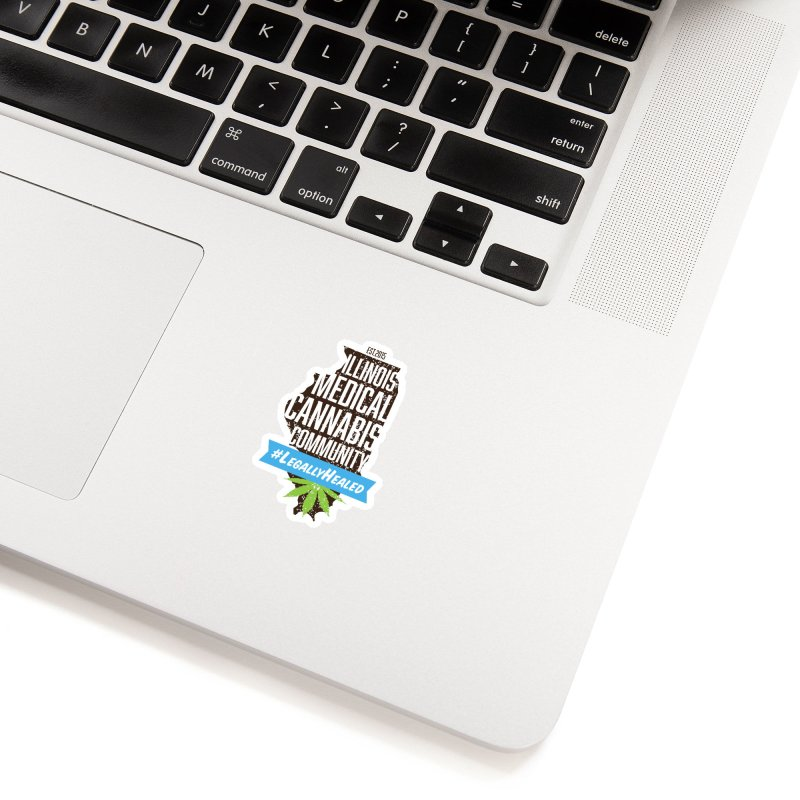 Illinois #LegallyHealed Accessories Sticker by The Medical Cannabis Community