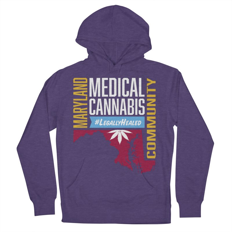 Maryland Medical Cannabis Community Women's French Terry Pullover Hoody by The Medical Cannabis Community