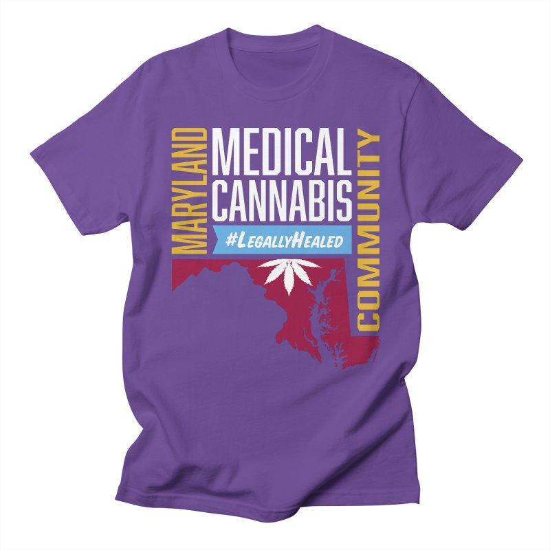 Maryland Medical Cannabis Community Men's Regular T-Shirt by The Medical Cannabis Community