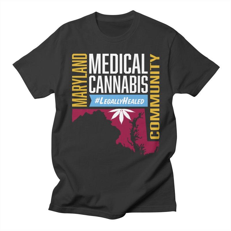Maryland Medical Cannabis Community Women's Regular Unisex T-Shirt by The Medical Cannabis Community
