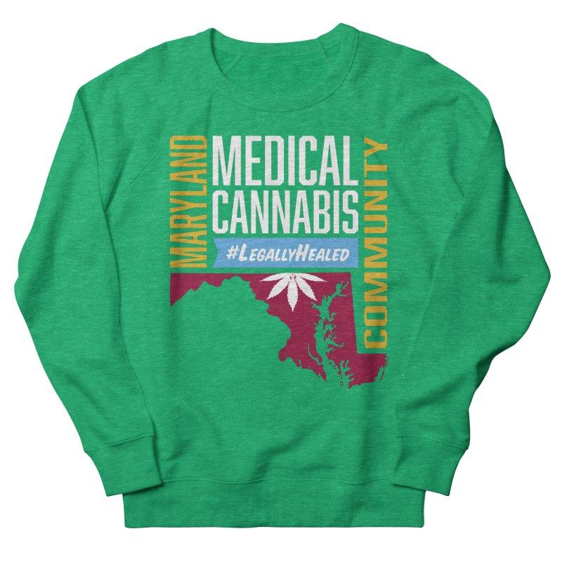 Maryland Medical Cannabis Community Women's Sweatshirt by The Medical Cannabis Community