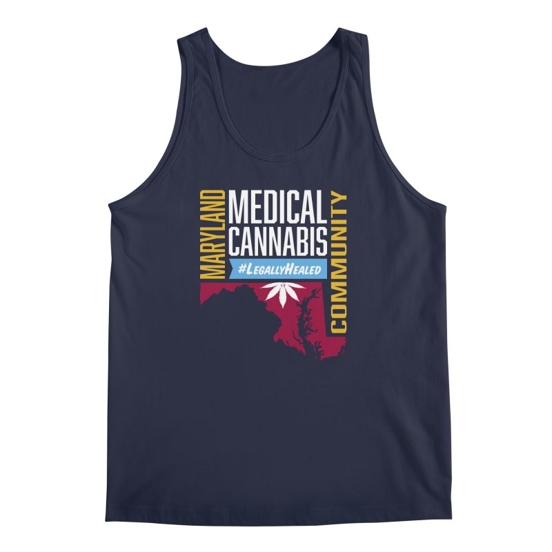 Maryland Medical Cannabis Community Men's Regular Tank by The Medical Cannabis Community