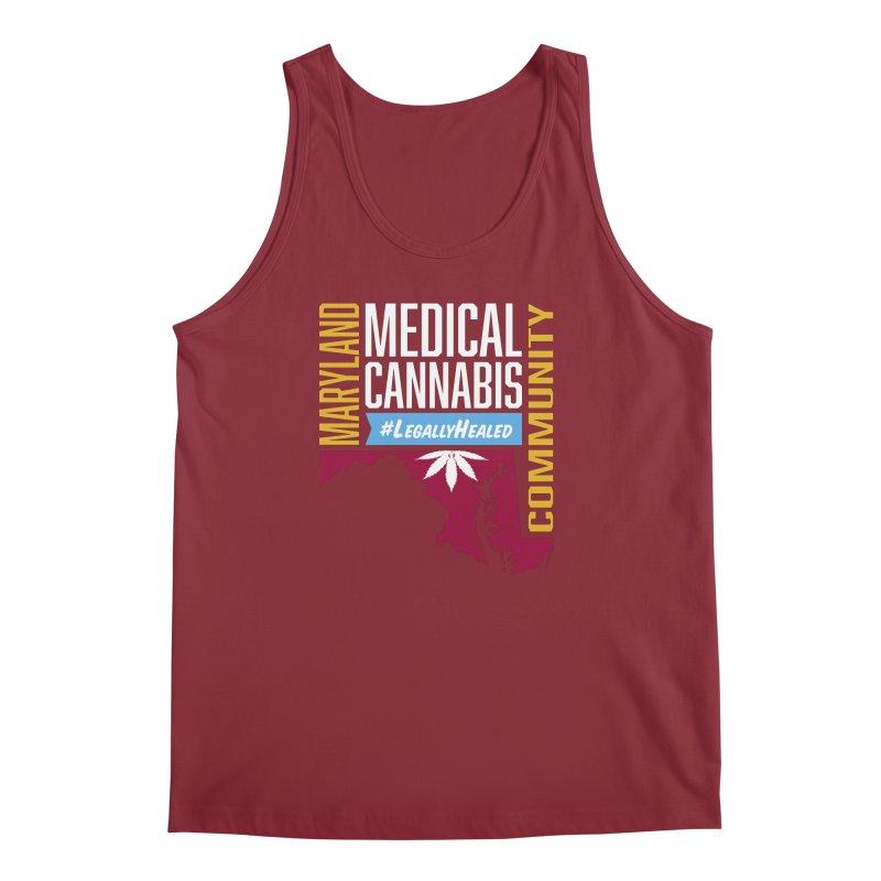 Maryland Medical Cannabis Community Men's Regular Tank by The Medical Cannabis Community