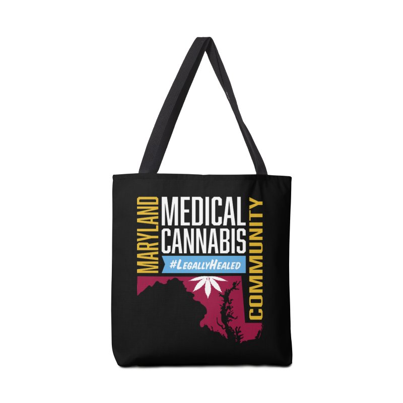 Maryland Medical Cannabis Community Accessories Tote Bag Bag by The Medical Cannabis Community