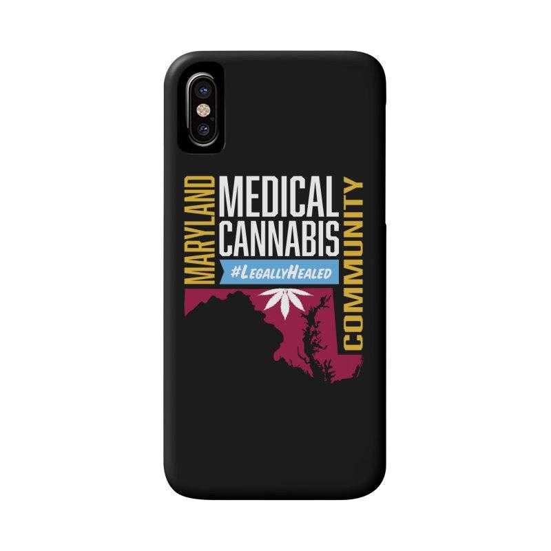 Maryland Medical Cannabis Community Accessories Phone Case by The Medical Cannabis Community