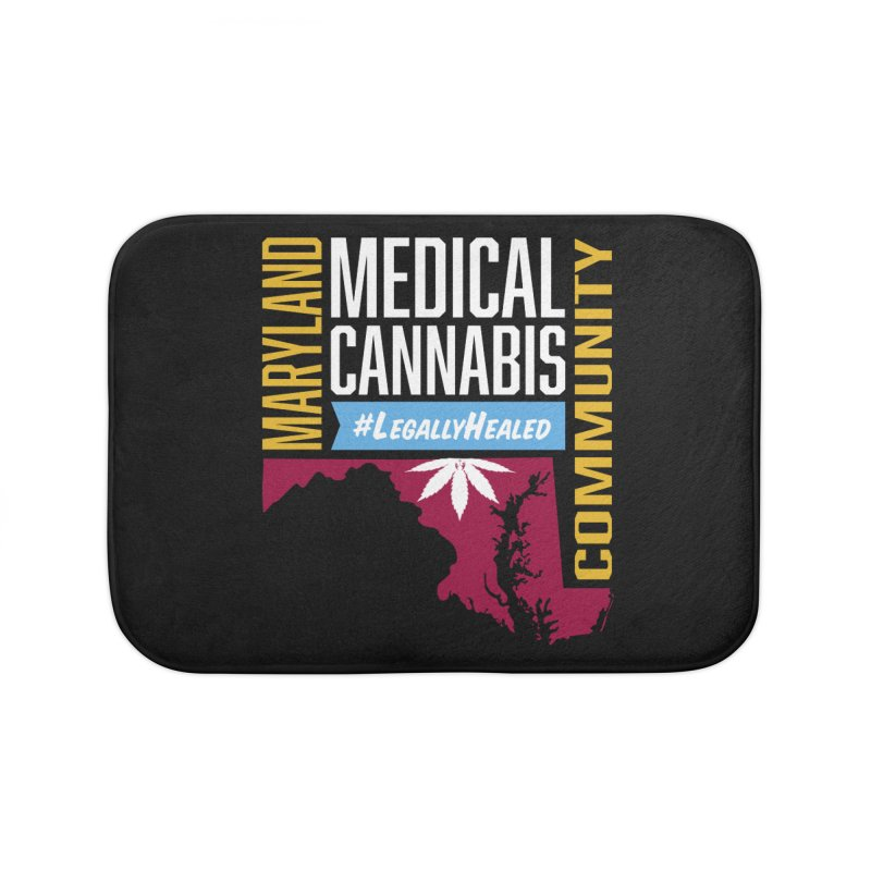 Maryland Medical Cannabis Community Home Bath Mat by The Medical Cannabis Community