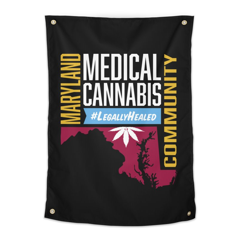 Maryland Medical Cannabis Community Home Tapestry by The Medical Cannabis Community