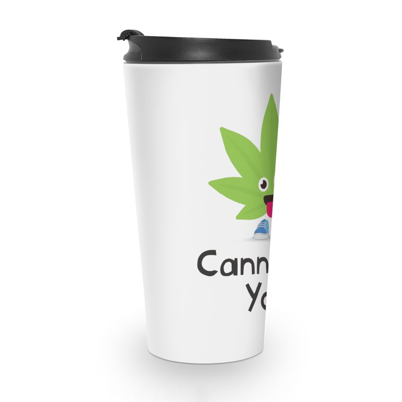 Cann i Kiss You? Accessories Travel Mug by The Medical Cannabis Community