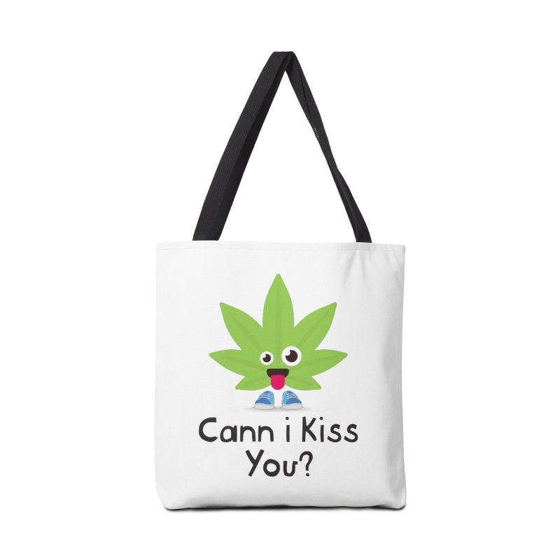 Cann i Kiss You? Accessories Bag by The Medical Cannabis Community