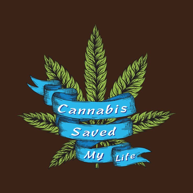 Cannabis Saved My Life Accessories Beach Towel by The Medical Cannabis Community