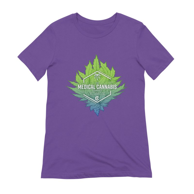 The Medical Cannabis Community Icon Women's T-Shirt by The Medical Cannabis Community