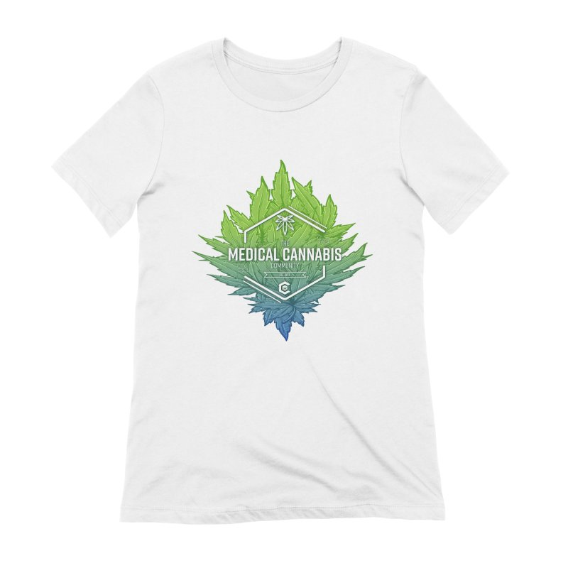 The Medical Cannabis Community Icon Women's Extra Soft T-Shirt by The Medical Cannabis Community