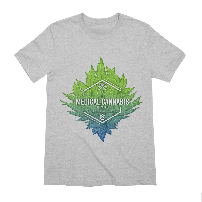 The Medical Cannabis Community Icon Men's Extra Soft T-Shirt by The Medical Cannabis Community