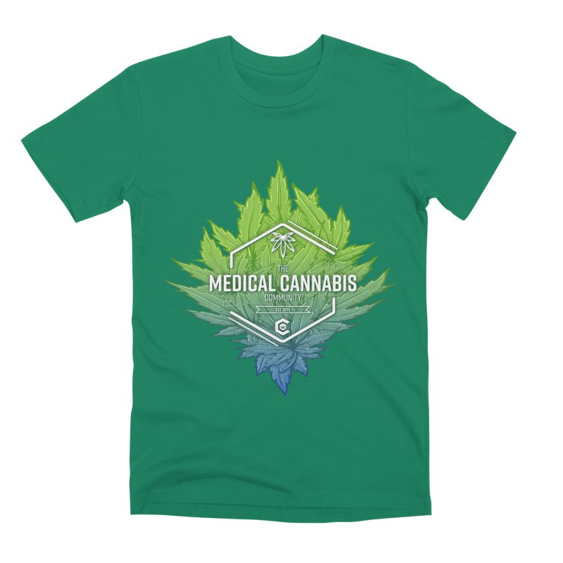The Medical Cannabis Community Icon Men's Premium T-Shirt by The Medical Cannabis Community