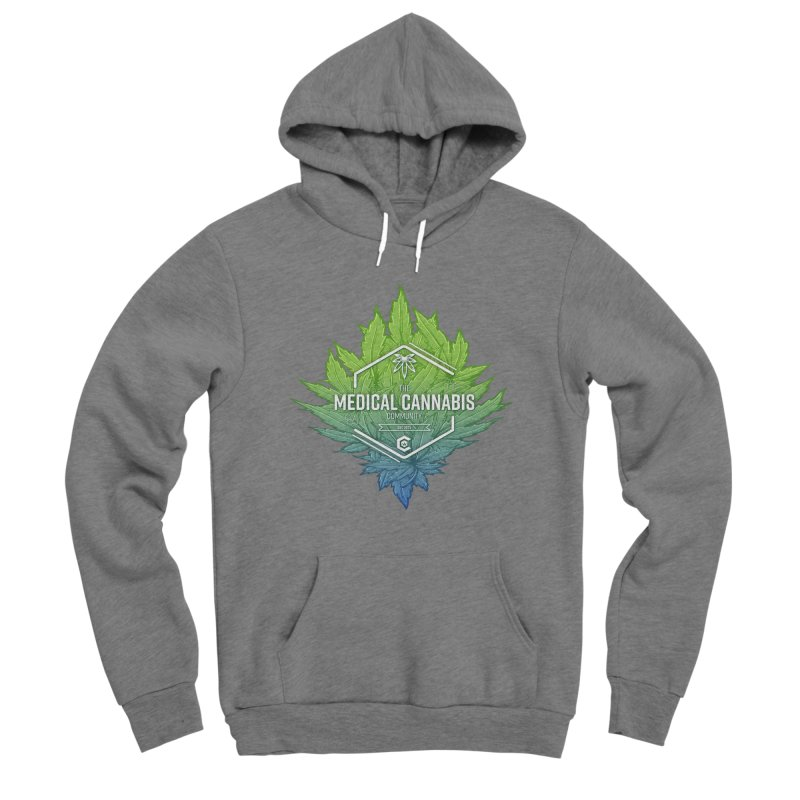 The Medical Cannabis Community Icon Women's Pullover Hoody by The Medical Cannabis Community