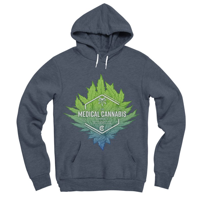 The Medical Cannabis Community Icon Women's Sponge Fleece Pullover Hoody by The Medical Cannabis Community