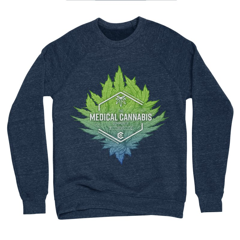 The Medical Cannabis Community Icon Women's Sponge Fleece Sweatshirt by The Medical Cannabis Community