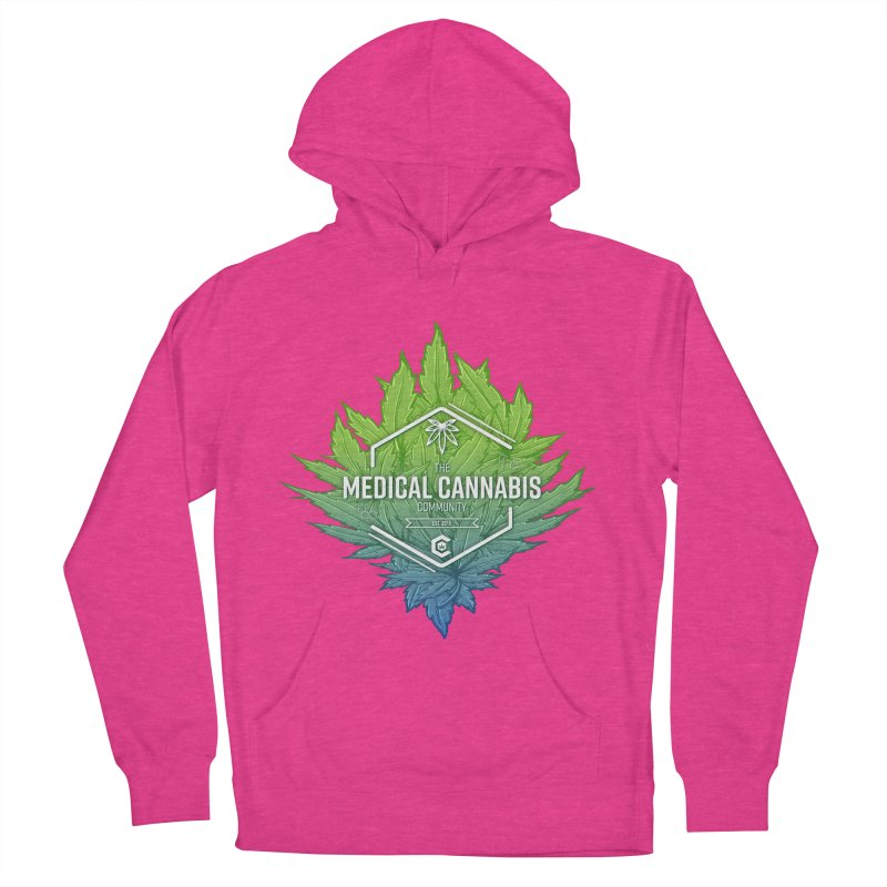 The Medical Cannabis Community Icon Women's French Terry Pullover Hoody by The Medical Cannabis Community
