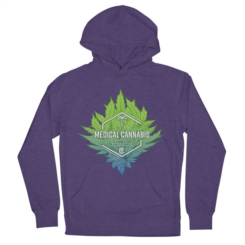 The Medical Cannabis Community Icon Men's French Terry Pullover Hoody by The Medical Cannabis Community