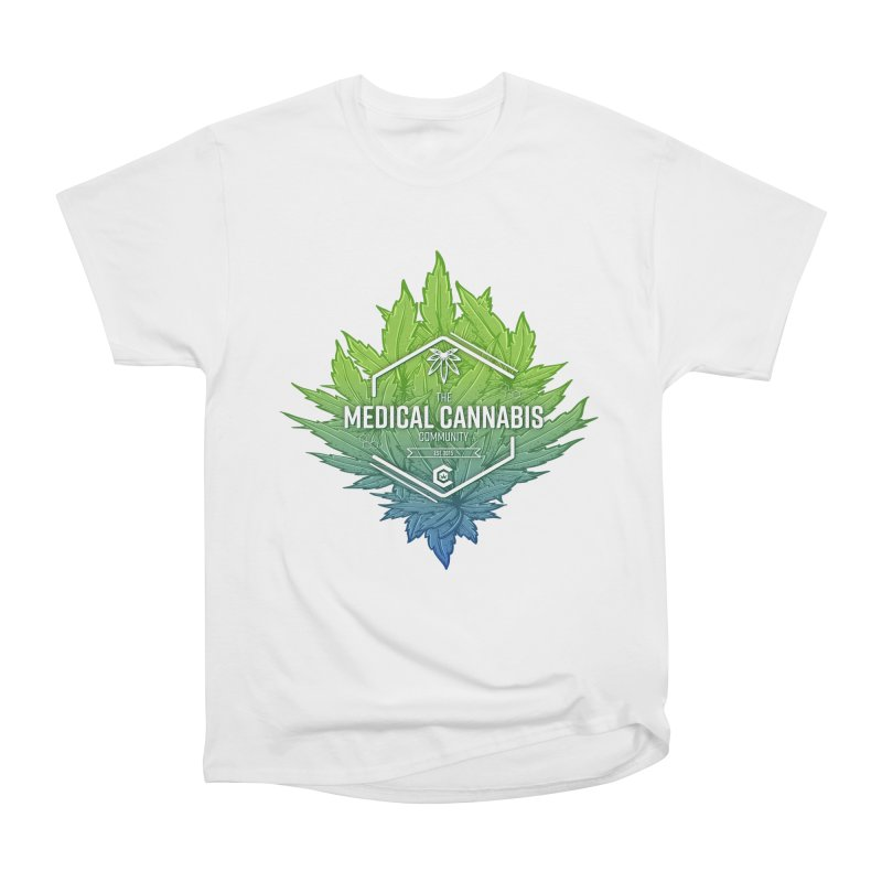 The Medical Cannabis Community Icon Men's Heavyweight T-Shirt by The Medical Cannabis Community