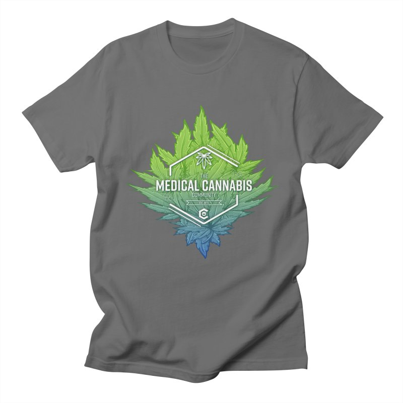 The Medical Cannabis Community Icon Men's T-Shirt by The Medical Cannabis Community