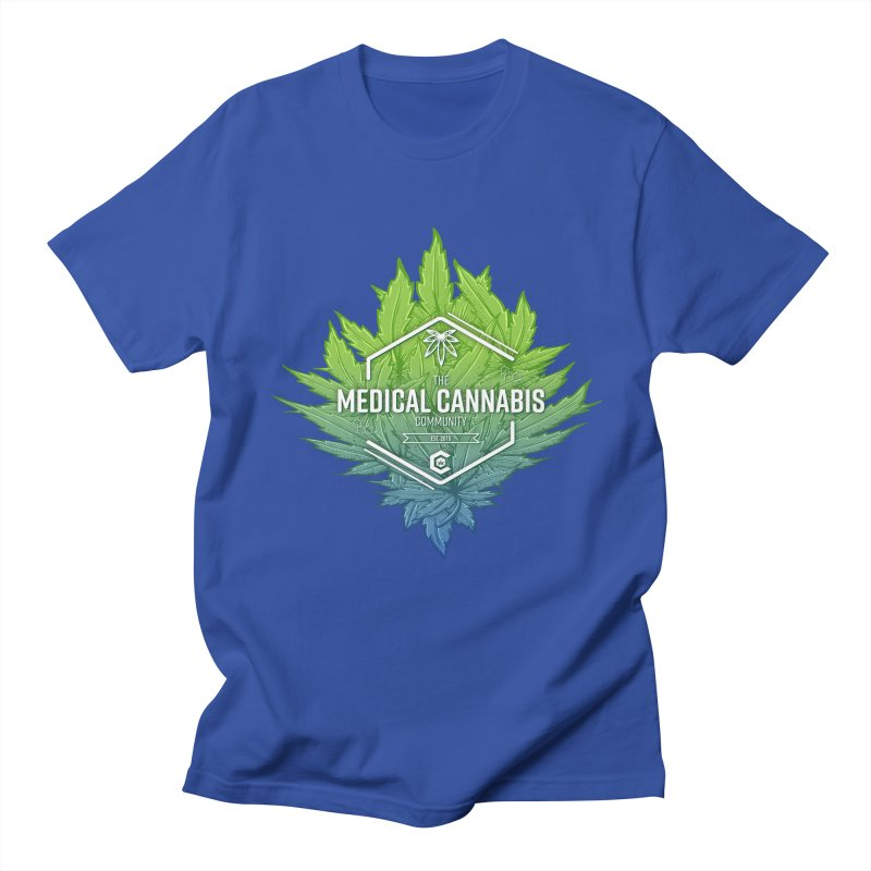 The Medical Cannabis Community Icon Women's Regular Unisex T-Shirt by The Medical Cannabis Community