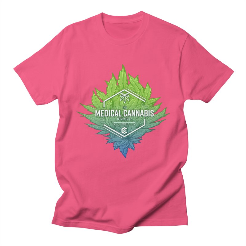 The Medical Cannabis Community Icon Men's Regular T-Shirt by The Medical Cannabis Community