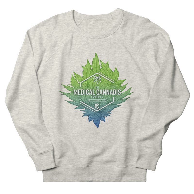 The Medical Cannabis Community Icon Women's French Terry Sweatshirt by The Medical Cannabis Community