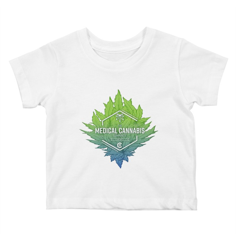 The Medical Cannabis Community Icon Kids Baby T-Shirt by The Medical Cannabis Community