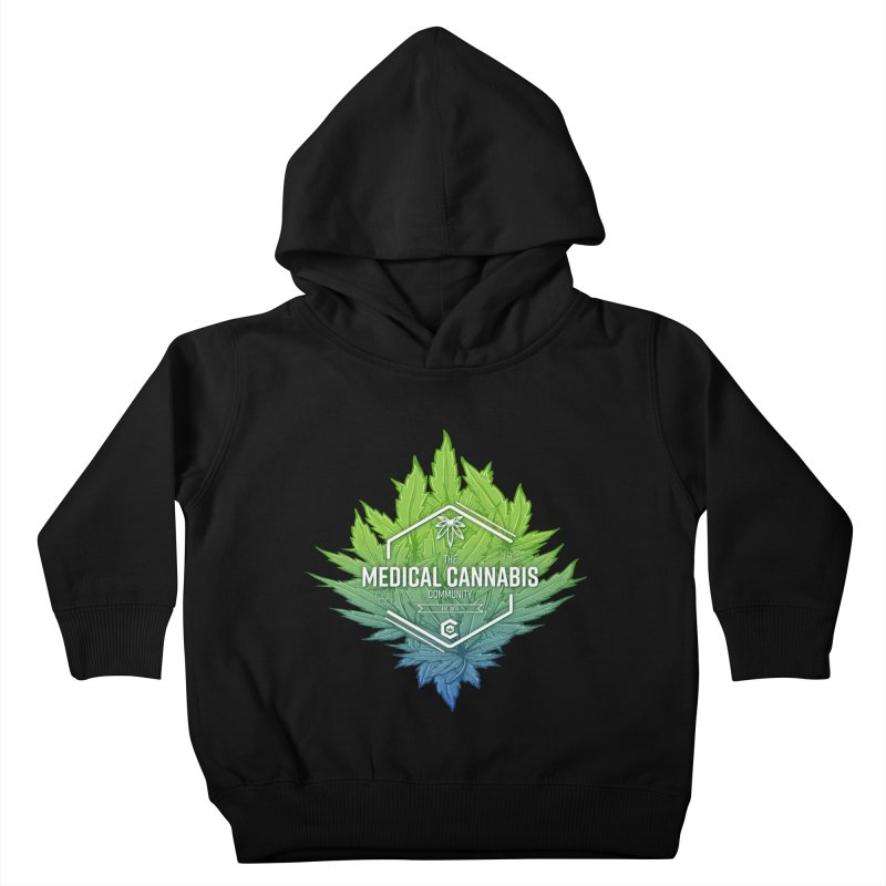 The Medical Cannabis Community Icon Kids Toddler Pullover Hoody by The Medical Cannabis Community