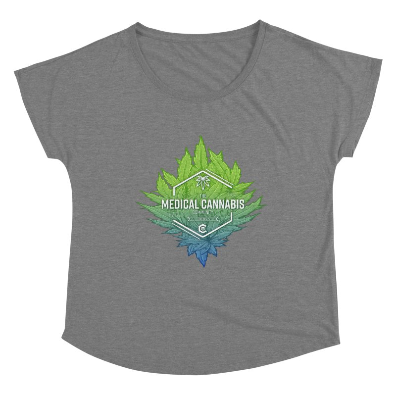 The Medical Cannabis Community Icon Women's Scoop Neck by The Medical Cannabis Community