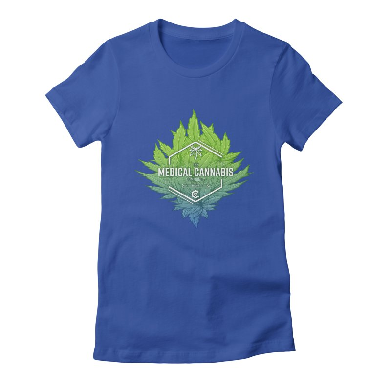 The Medical Cannabis Community Icon Women's Fitted T-Shirt by The Medical Cannabis Community