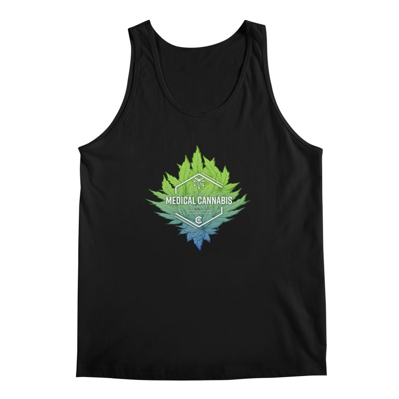 The Medical Cannabis Community Icon Men's Regular Tank by The Medical Cannabis Community