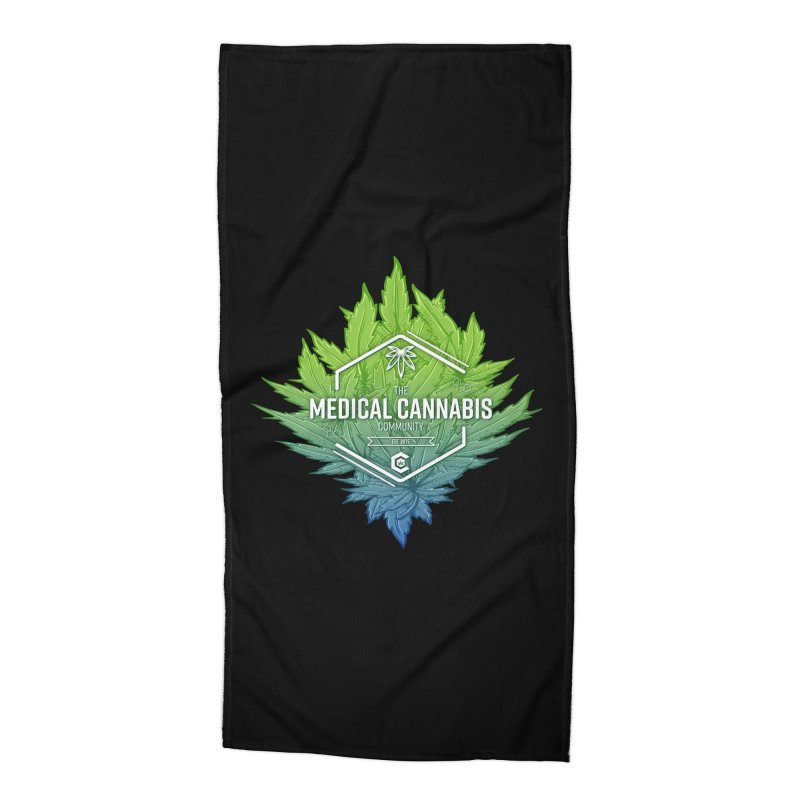 The Medical Cannabis Community Icon Accessories Beach Towel by The Medical Cannabis Community