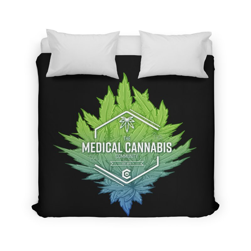 The Medical Cannabis Community Icon Home Duvet by The Medical Cannabis Community