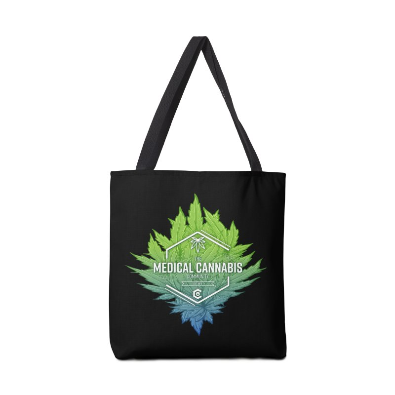 The Medical Cannabis Community Icon Accessories Tote Bag Bag by The Medical Cannabis Community