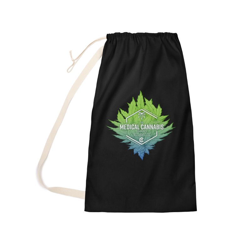 The Medical Cannabis Community Icon Accessories Laundry Bag Bag by The Medical Cannabis Community