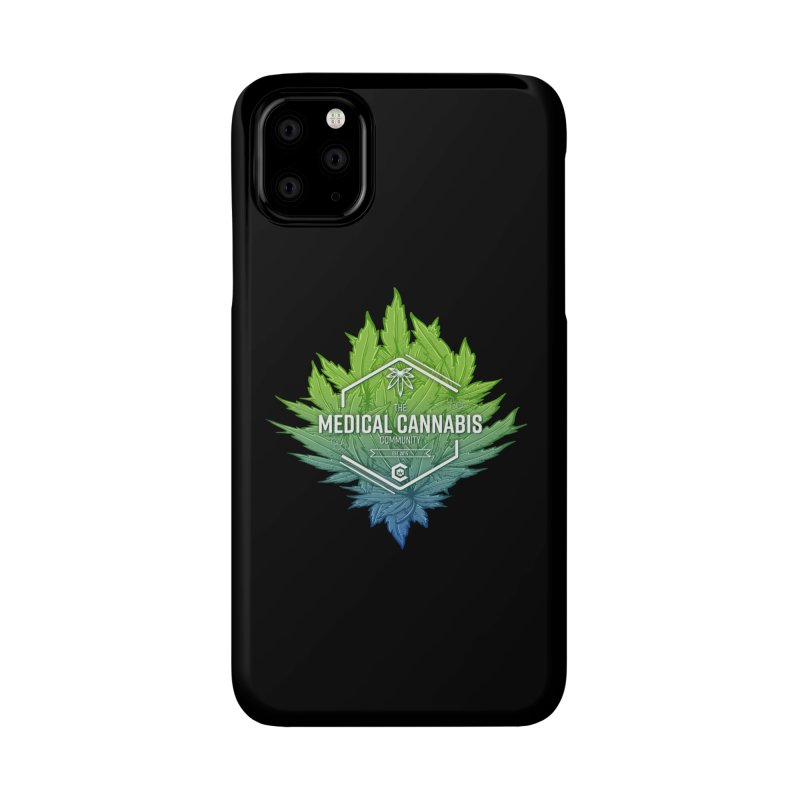 The Medical Cannabis Community Icon Accessories Phone Case by The Medical Cannabis Community