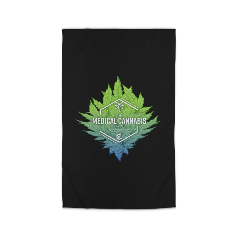 The Medical Cannabis Community Icon Home Rug by The Medical Cannabis Community