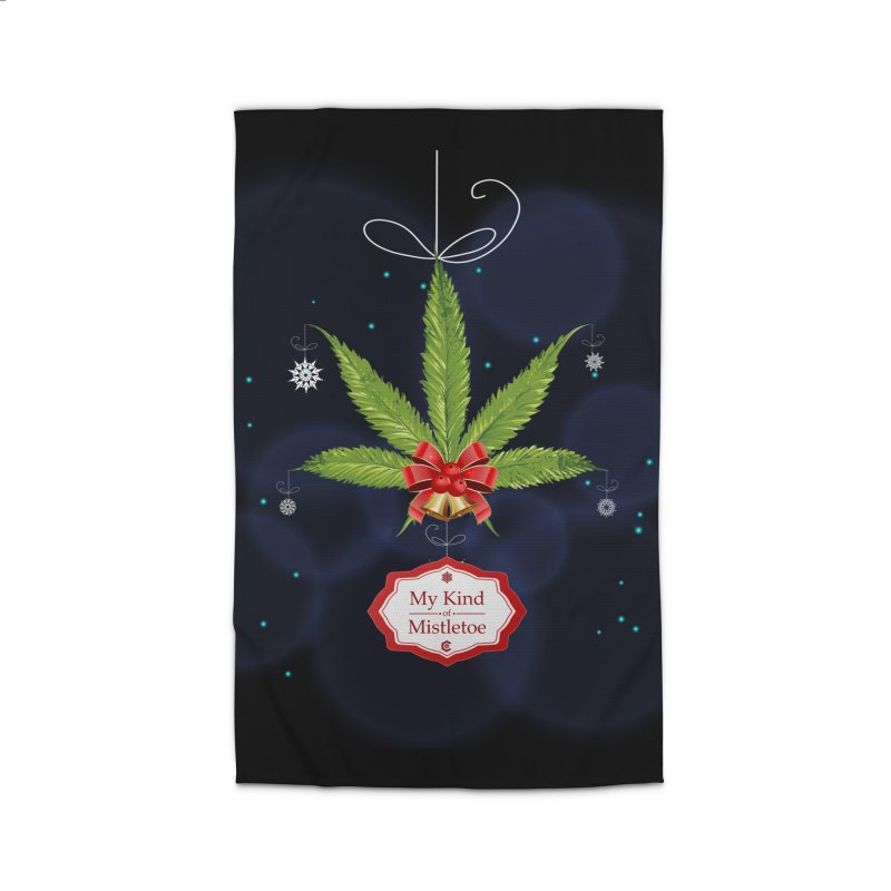 My Kind of Mistletoe Home Rug by The Medical Cannabis Community