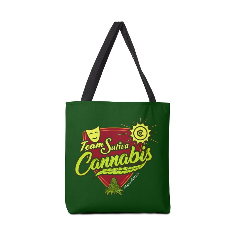 Team Sativa Accessories Tote Bag Bag by The Medical Cannabis Community